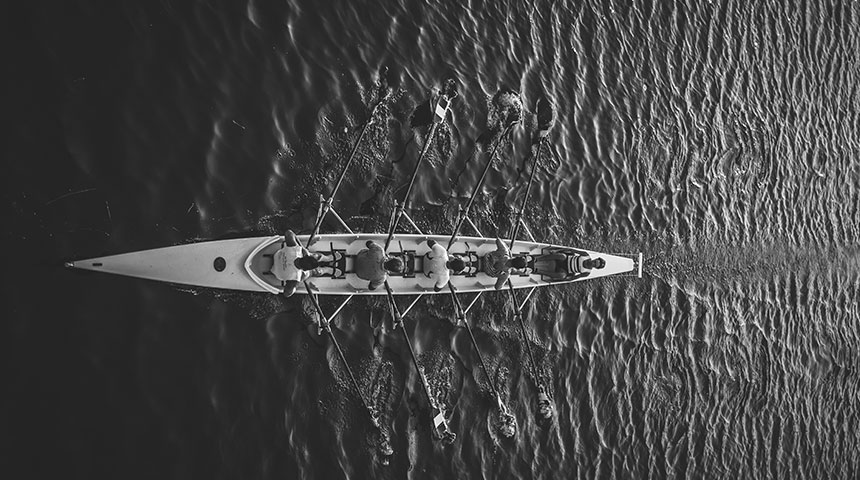 black and white row - 4 Things to Know Before Betting on Boat Races